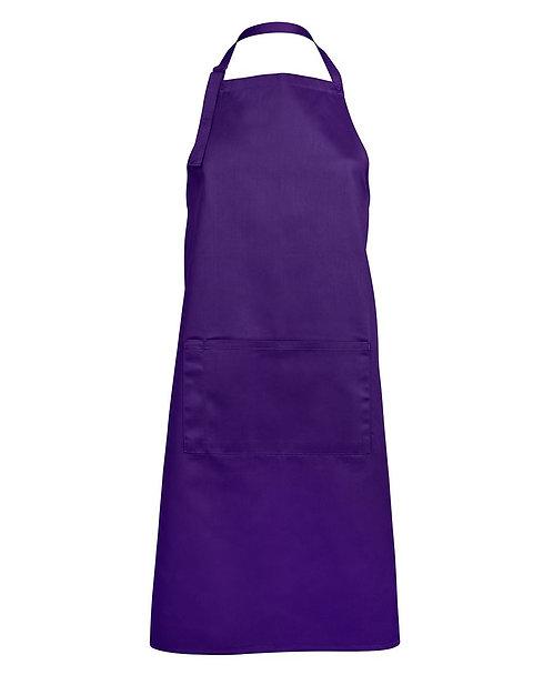 Apron with Pocket - Purple