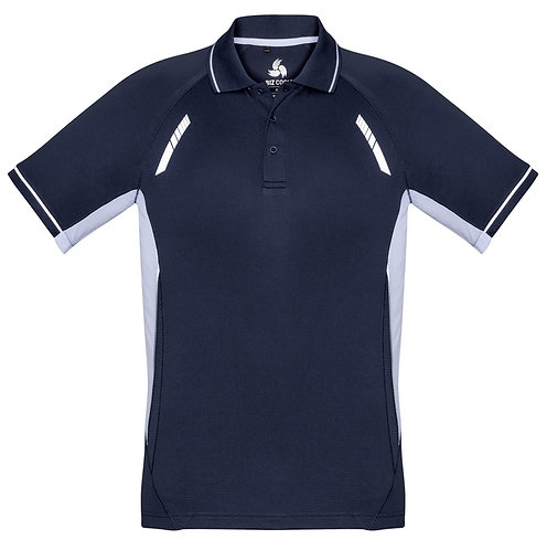 Mens Renegade Polo - Navy / White