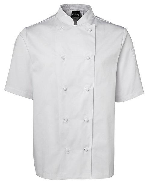 Unisex SS Chef's Jacket - White