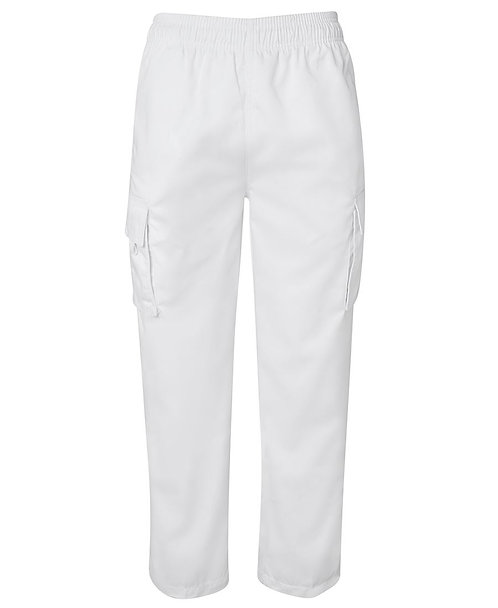 Cargo Chefs Pant - White