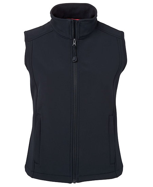 Ladies Layer Soft Shell Vest Navy