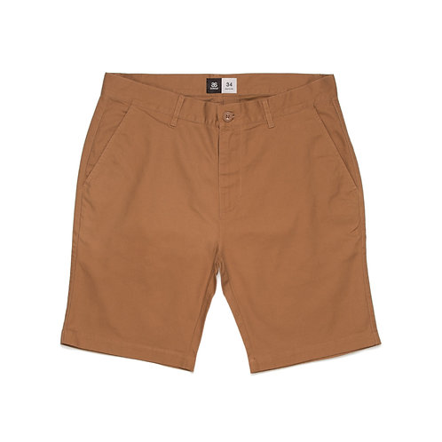 AS Colour Chino Short Tobacco - Available from