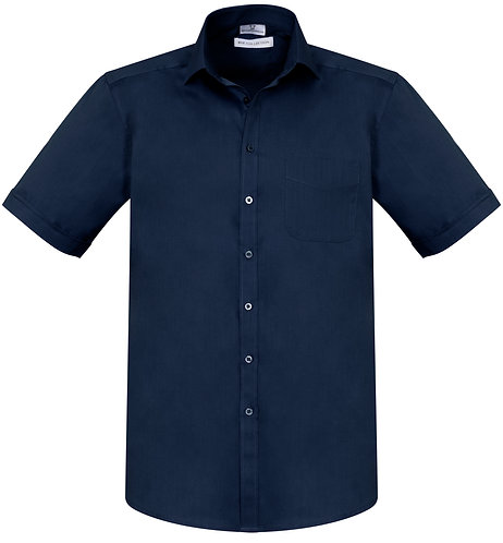 Mens Monaco SS Shirt - Navy