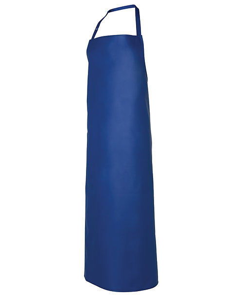 Industrial Waterproof Vinyl Apron Royal - Minimum Order 5