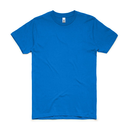 AS Colour Block Tee Bright Royal - From
