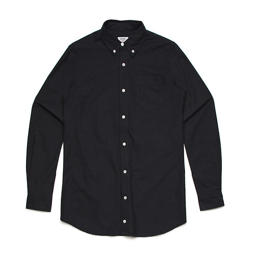 AS Colour Mens 100% Cotton Black Shirt - Available from