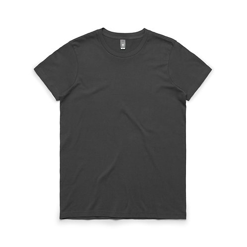 AS Colour Womens Maple Tee - Charcoal