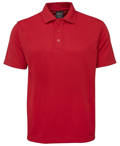 Adults Podium Sport 100 Polo Shirt - Red