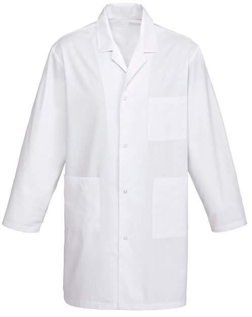 Unisex Lab Coat - White