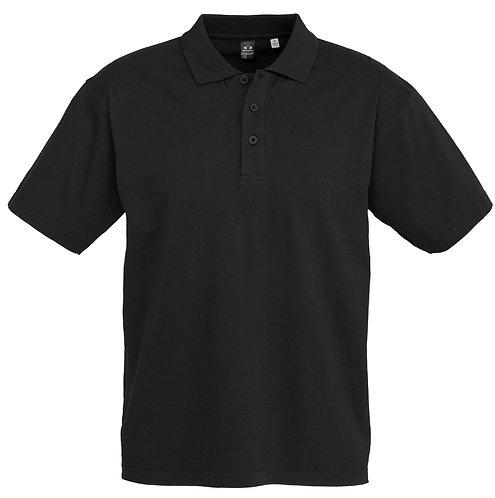 Mens Premium 100%  Cotton Polo - Black