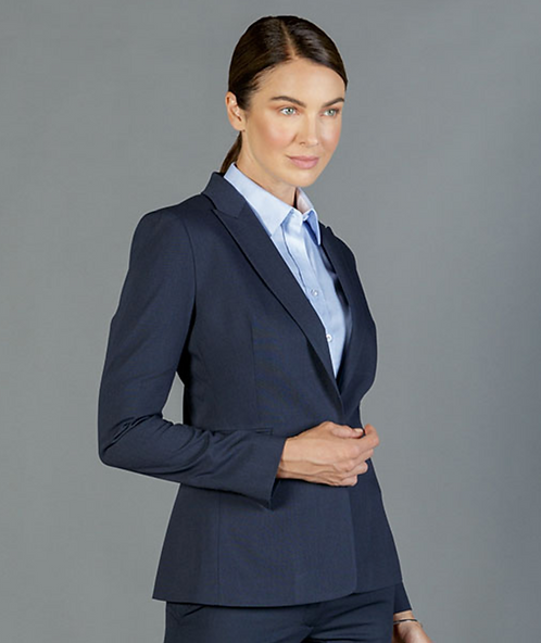 Career By Gloweave Washable One Button Jacket - 3 Colours Available