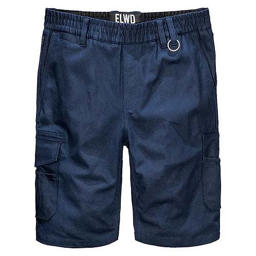 ELWD Elastic Utility Short - Navy