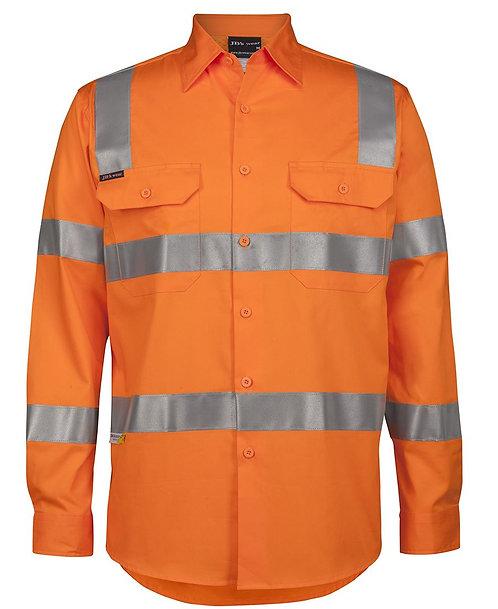 Hi-Vis (D+N) L/S 150g Vic Rail Work Shirt