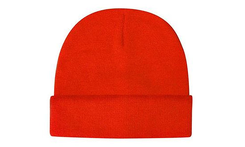 Luminescent Safety Acrylic Beanie - Pack of 5