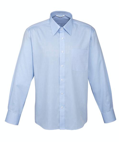 Mens Luxe Shirt - Sky Blue