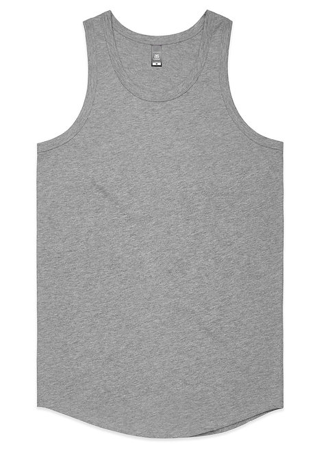 AS Colour Mens Authentic Singlet - Grey Marle