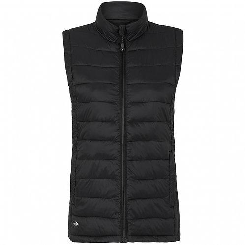 Womens Sports Leisure Whistler Soft Tec Vest - Black