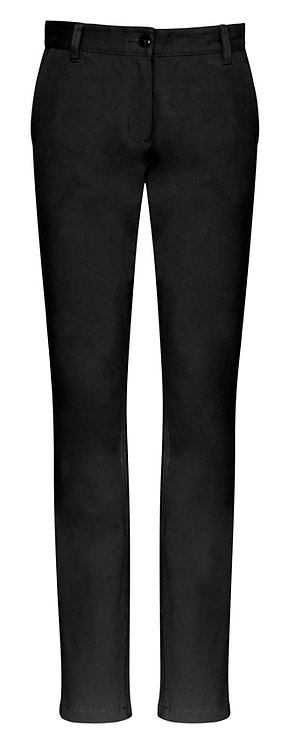 Womens Contemporary Chino - Black