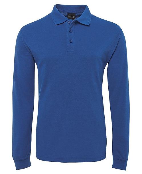 Long Sleeve Polo Shirt - Royal