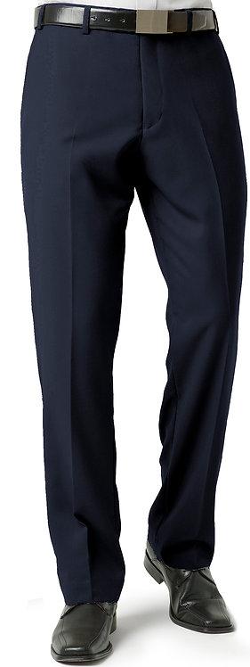 Mens Classic Flat Front Pant - Navy