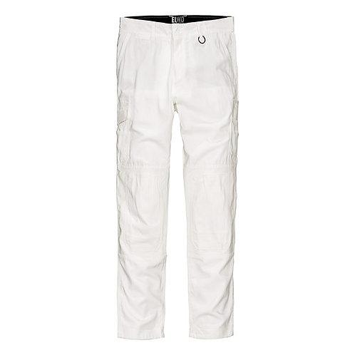 ELWD Mens Utility Pant - White