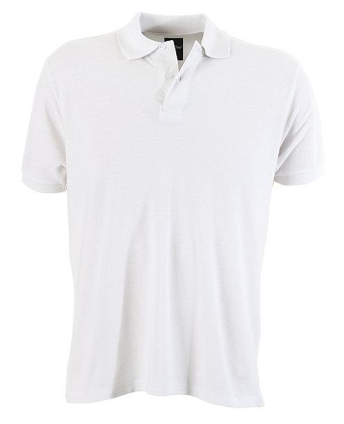 Mens Slim Fit Venice Polo - White MOQ 2