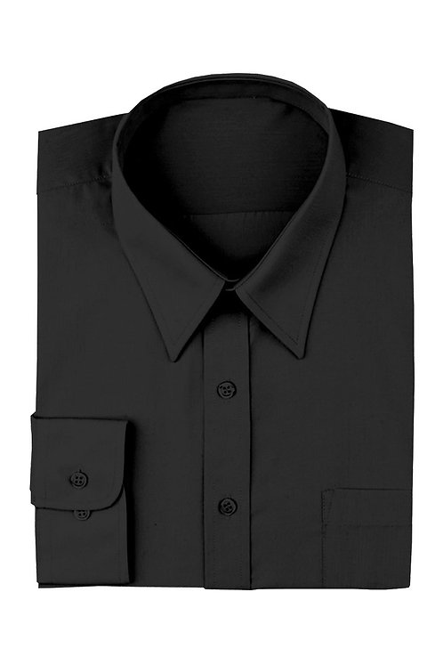 Mens Dress Shirt - Black