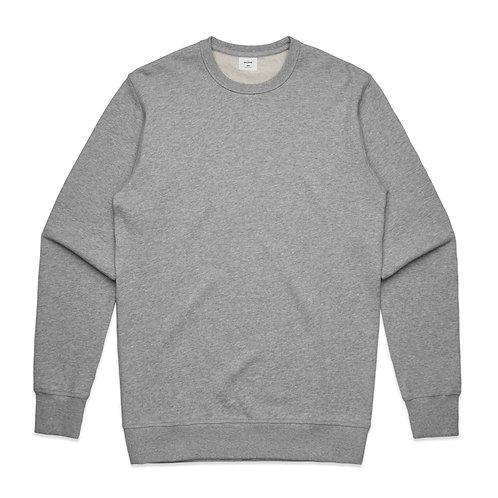 AS Colour Premium Crew - Grey Marle