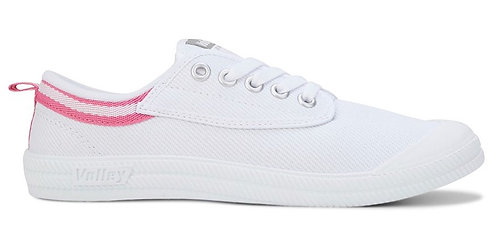 Dunlop Volley International Canvas - White/Pink