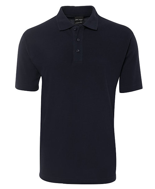Mens Basic Pique Polo SS Navy - 6/7XL & 8/9XL Available