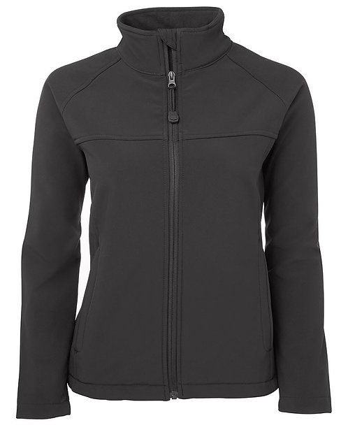 Ladies Layer Soft Shell Jacket Charcoal