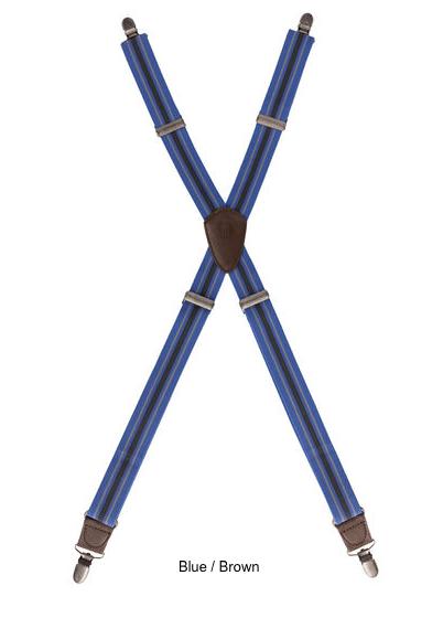 Berkeley Striped Apron Suspenders