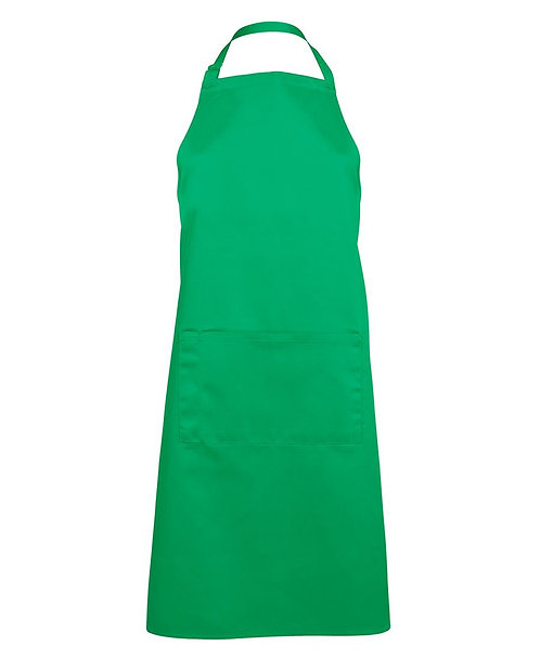 Apron with Pocket - Pea Green