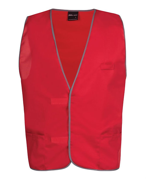 Fluro Vest - Red