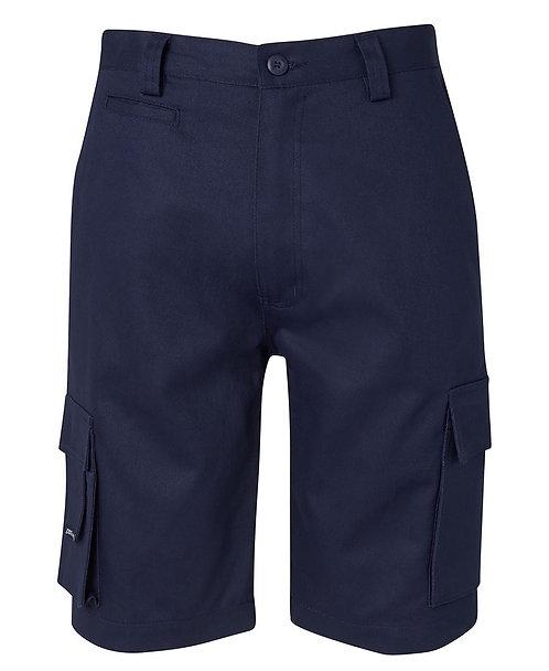 JB's Mercerised Multi Pocket Short - Navy