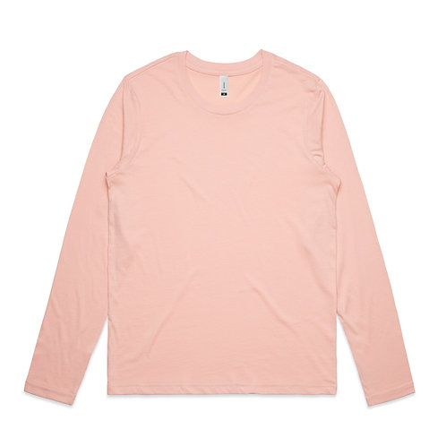 AS Colour LS Chelsea Tee Pale Pink - Available From