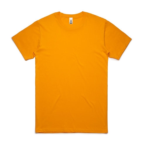 AS Colour Block Tee Gold - From