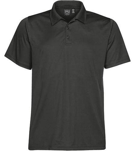 Mens Performance Polo Shirt - Charcoal