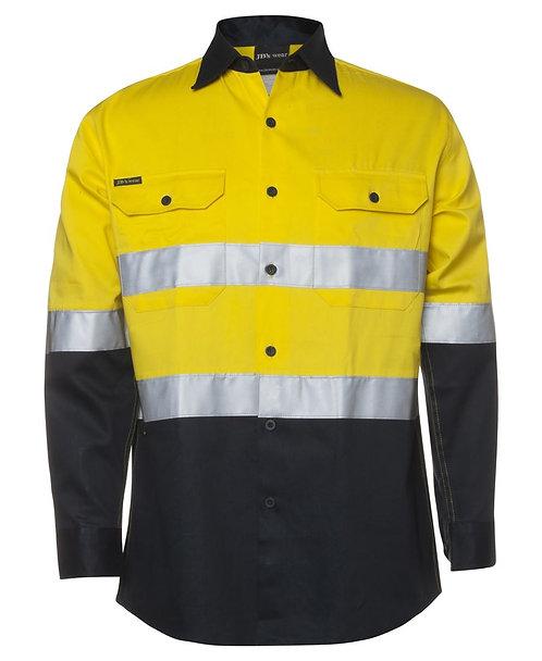 Hi Vis (D+N) L/S 190G Shirt - Yellow/Green