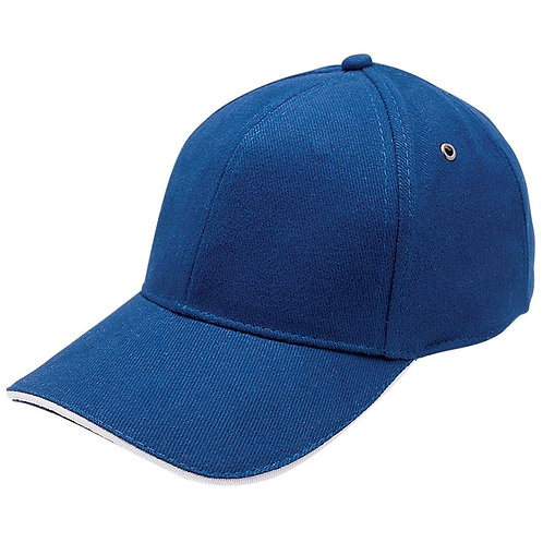 Sandwich Peak Cap - Royal/ White Pack of 10