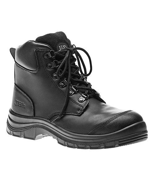 JB's Lace Up Safety Boot - Black