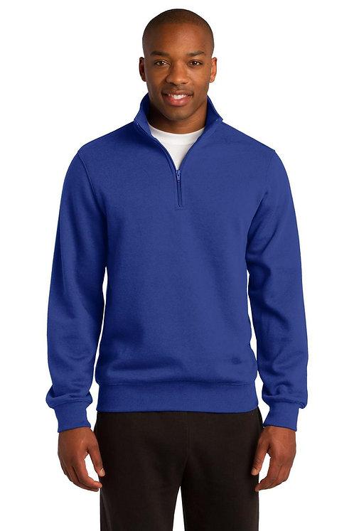 1/4-Zip Sweatshirt Royal -  MOQ 10