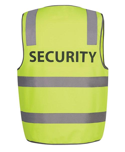 Hi Vis D+N Safety Vest SECURITY