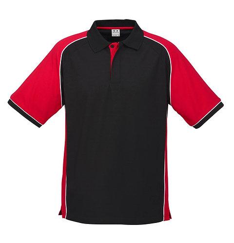 Nitro Polo - Black/Red/White