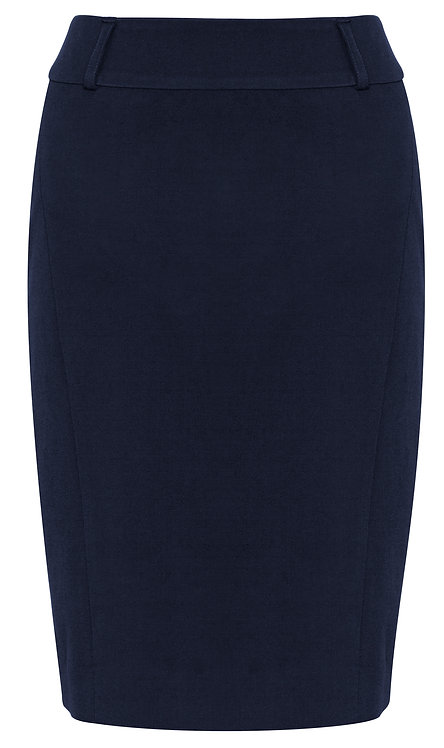 Womens Perfect Stretch Skirt - Navy