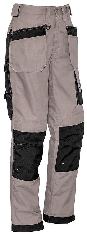 Syzmik Mens Ultralite Multi-Pocket Pant - Khaki/Black