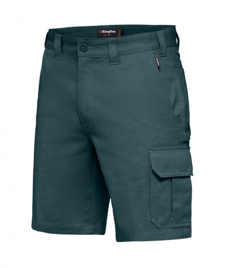 King Gee New G's Worker Short - Green