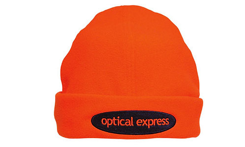 Luminescent Micro Fleece Safety Beanie - Pack of 5