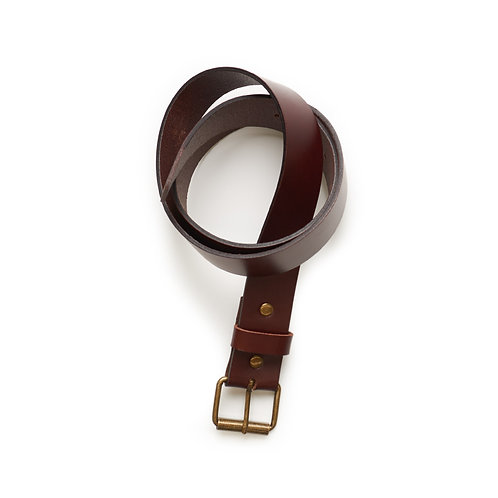 AS Colour Leather Belt Brown - Available from