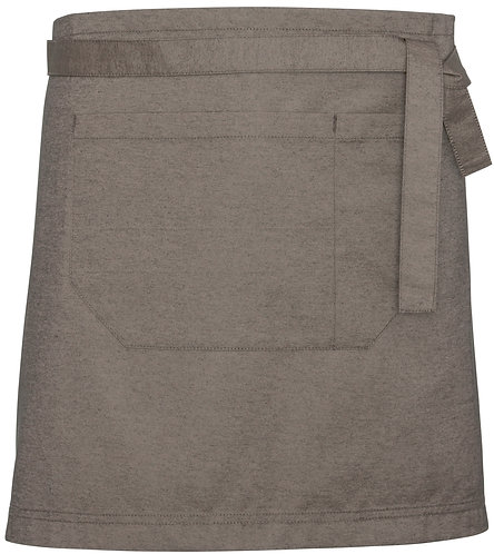 Natural Easy Waist Apron with Changeable Straps